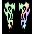SAMOLEPÍCÍ DEKORY plameny laser 1/04047