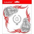 SAMOLEPÍCÍ DEKORY 11.tribal červený 1/05059