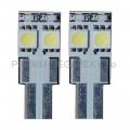 ŽÁROVKY LED T10W2,1x9,5D bílé 12V 70-53