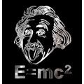 Samolepicí dekor niklovaný e=mc 1/06251
