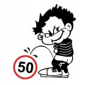SAMOLEPÍCÍ DEKORY chlapec ( 50km) 1/02199