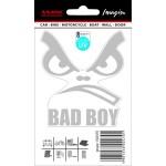 Samolepící dekory bad boy stříbrný 1/02470