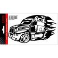 SAMOLEPÍCÍ DEKORY kamion v plamenech 1/03264