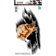 SAMOLEPÍCÍ DEKOR ruka s tetováním 1/04148