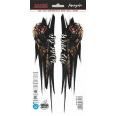 SAMOLEPÍCÍ DEKORY divoký leopard 1/06178