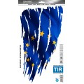 SAMOLEPÍCÍ DEKORY eu vlajka 1/09433