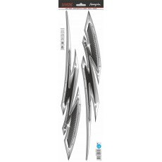 SAMOLEPÍCÍ DEKORY metal carbon 1/09439