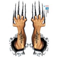 SAMOLEPÍCÍ DEKORY ruce s tetováním velké 1/11242