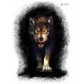 SAMOLEPÍCÍ DEKORY  vlk 1/17023