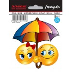 SAMOLEPÍCÍ DEKORY sluníčka pod deštníkem 1/24194