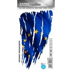 SAMOLEPÍCÍ DEKORY eu vlajka 1/25069