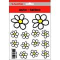 Samolepící dekory květiny žluté 1/03009