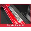 """OCHRANNÉ PRAHOVÉ LIŠTY ŠKODA FABIA III 2014-> """"exclusive"""" 4ks 2/19014"""