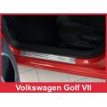 """OCHRANNÉ PRAHOVÉ LIŠTY VOLKSWAGEN Golf VII """"exclusive"""" 4ks 2/22071"""