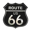 SAMOLEPÍCÍ DEKORY alu znak route 66 2/33351