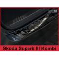 OCHRANNÁ LIŠTA hrany kufru černá ŠKODA Superb III 2015-> 2/45020