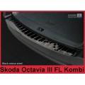 OCHRANNÁ LIŠTA hrany kufru černá leštěná  ŠKODA Octavia III combi facelift 2016->  2/51003