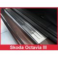 """OCHRANNÉ PRAHOVÉ LIŠTY ŠKODA Octavia III 2013-> """"exclusive"""" 4ks 2/19210"""