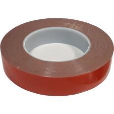 Lepící páska 25mm/10m -oboustranná akryl 37-30