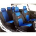 Autopotahy 4 car škoda superb I s nedělenou zadní sedačkou a zadní loketní opěrkou modré 70170-2