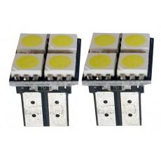 ŽÁROVKY LED T10W2,1x9,5D bílé 12V  CAN-BUS 59-20