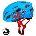 Dětská cyklo přilba in mold spiderman 59075
