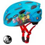 Dětská cyklo přilba in mold avengers modrá 59076