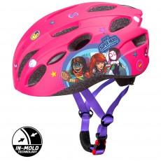 Dětská cyklo přilba in mold avengers růžová 59077