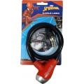 Zámek na kolo lankový  spiderman 59223