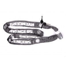 Zámek na kolo řetězový avengers 59226