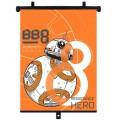 SLUNEČNÍ CLONA - roletka 1 kus star wars BB-8 59320