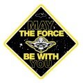 """DEKOR """"star wars yoda"""" na přísavku 59623"""