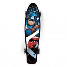 SKATEBOARD plastový captain america-avengers 59937
