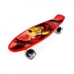 Skateboard plastový iron man 59938