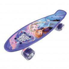 Skateboard plastový ledové království frozen II 59953