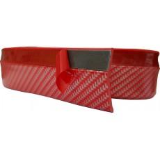 SAMOLEPÍCÍ lišta spoilerová carbon červený 2,5m 64-57