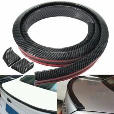 SAMOLEPÍCÍ lišta spoilerová zadní carbonová 1,5 m 35x20 mm 64-90