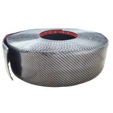 SAMOLEPÍCÍ ozdobná lišta carbonová 10cm/25m 64-95