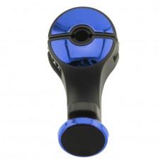 DRŽÁK mobilního zařízení na tyč opěrky hlavy modrý 66-62