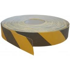PÁSKA PROTISKLUZOVÁ černo žlutá 50mmx50m 67-29