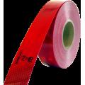 Folie reflexní červená 50mmx50m 67-30