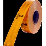 FOLIE REFLEXNÍ žlutá 50mmx50m 67-32