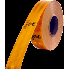 Folie reflexni žlutá 50mmx50m 67-32