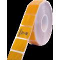 Folie reflexní 50m dělená žlutá 67-35