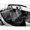 Autopotahy profil škoda fabia I s dělenou zadní sedačkou stříbrné 70125-1