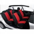 Autopotahy classic škoda fabia I s dělenou zadní sedačkou červené 70184-1