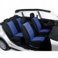 Autopotahy classic škoda fabia I s dělenou zadní sedačkou modré 70184