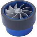 Turbo ventilátor modrý 75-96